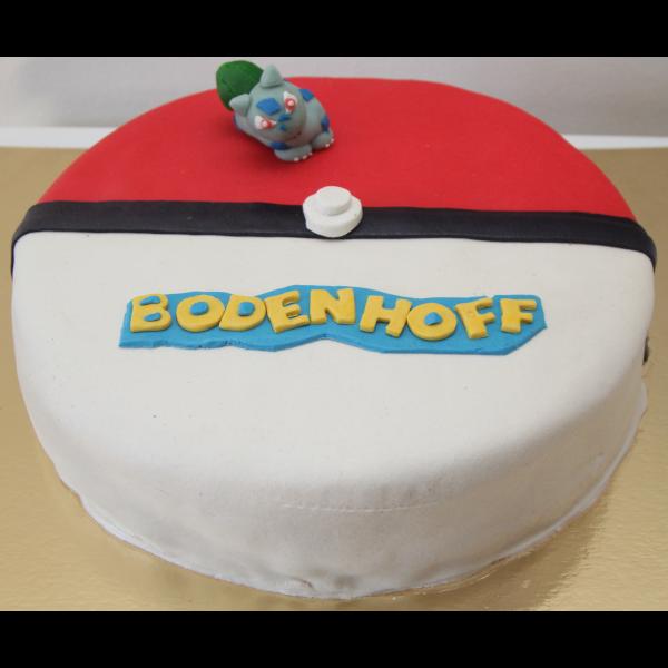 Prøv vores lagkage med pokemon motiv