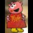 mini gurli gris hindbærsnitte kagekone