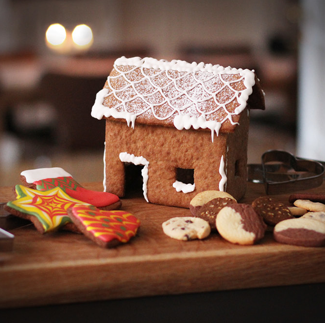 pebberkagehus julen 2020 bag selv der hjemme