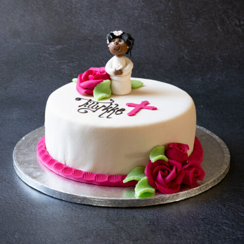 konfirmations lagkage pige 2021 bodenhoffs bageri 6 personer