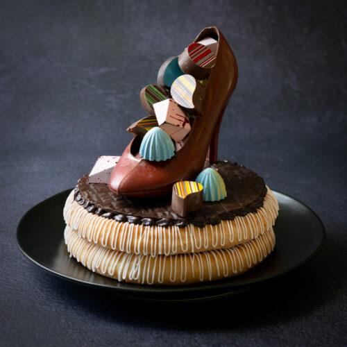 konfirmations kransekage chokoladesko pige dame bodenhoff 2021